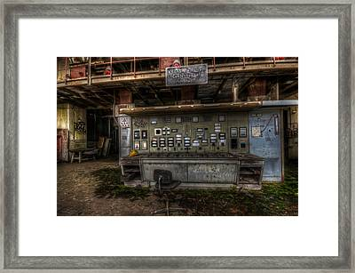 Mold Control  Framed Print