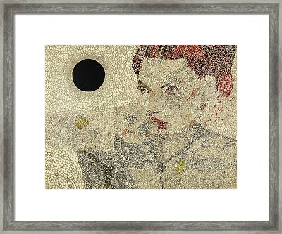 Molecular Fate Framed Print by Amy Mackenzie