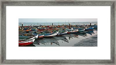 Moliceiros Da Torreira II Framed Print by Dave Dos Santos