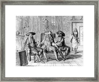 Moliere: Play, 1670 Framed Print