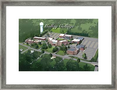 Molloy College Framed Print by Rhett and Sherry  Erb