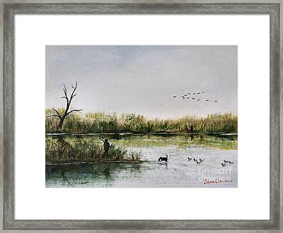 Molly And Me Framed Print