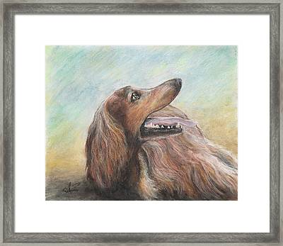 Molly Framed Print by Arthur Fix