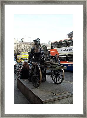 Framed Print featuring the photograph Molly Malone by Barbara McDevitt