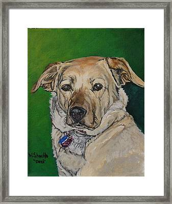 Framed Print featuring the painting Molly by Wendy Shoults
