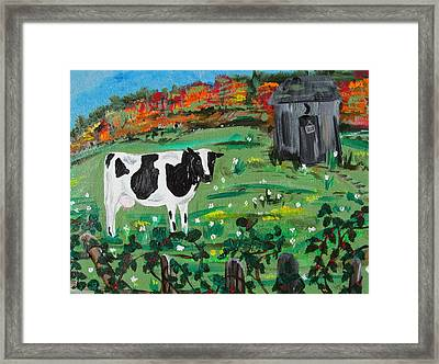 Molly's Field Framed Print