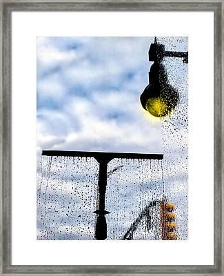 Molly's Window Framed Print by Bob Orsillo