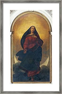 Molmenti Pompeo Marino, Immaculate Framed Print by Everett