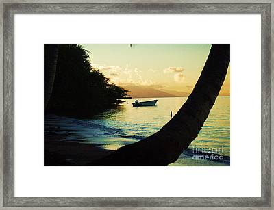 Molokai Beach Framed Print