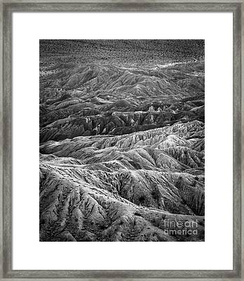 Molten Earth Framed Print