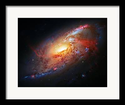 Cosmic Explosion Framed Prints