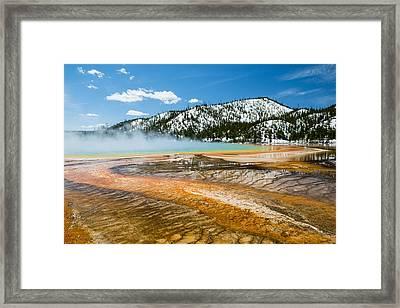 Molten Mist Framed Print