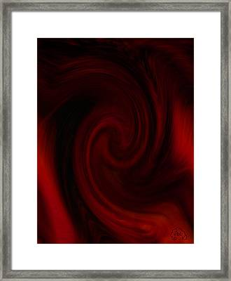 Molten Framed Print by Patricia Kay