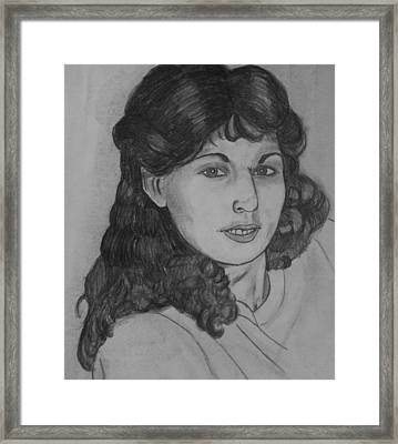 Mom 1988 Framed Print by Justin Moore