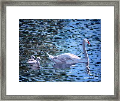 Mom And Pair Framed Print