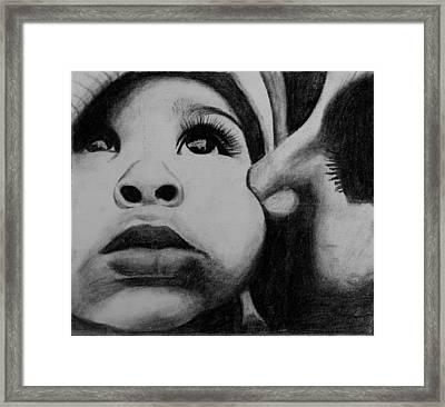 Mom Framed Print by Caroline  Reid