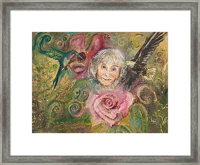 Mom Jeanne Framed Print
