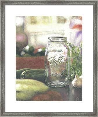 Mom Framed Print by Jimmy Graves