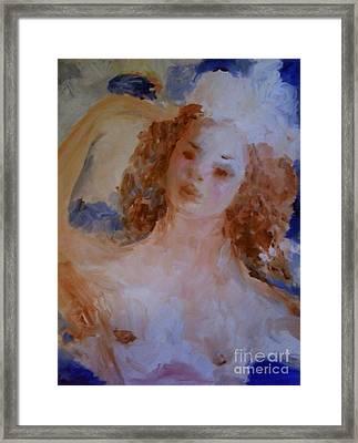 Mom Near Jupiter Framed Print by Laurie L