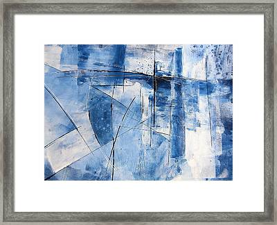 Moment Of Inertia Framed Print by Buck Buchheister