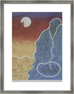 Moment Of Meditation Framed Print