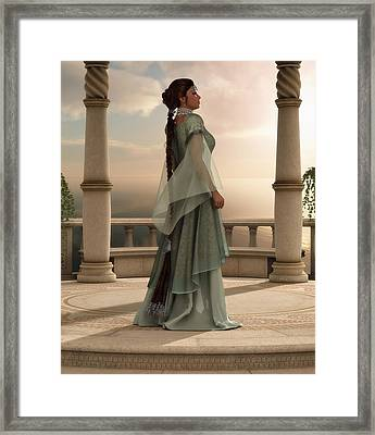 Moment Of Peace Framed Print by Melissa Krauss