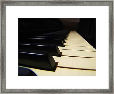 Moment Of Silence Framed Print