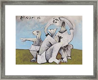 Momentis  The Accused Framed Print by Mark M  Mellon