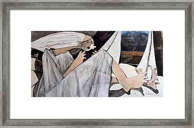 Momentis  The Storm Framed Print