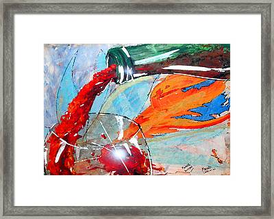 Momento Europeo Framed Print