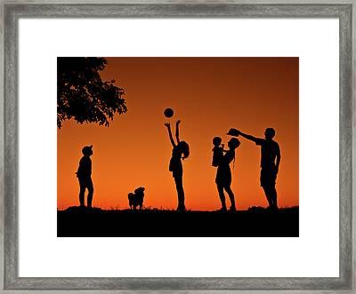 Moments Framed Print