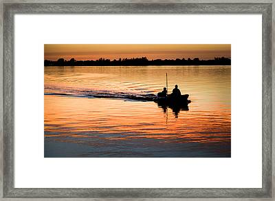 Moments In Time Framed Print by Karen Wiles