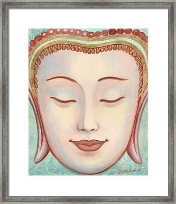 Moments Of Bliss Framed Print by Judith Grzimek