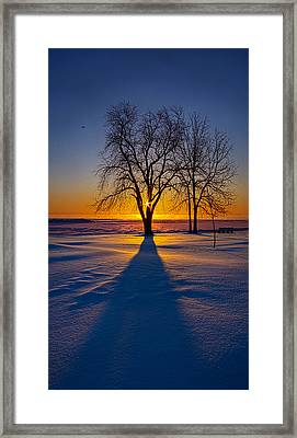 Moments Of Clarity Framed Print