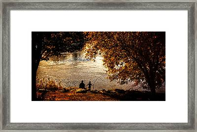Moments To Remember Framed Print