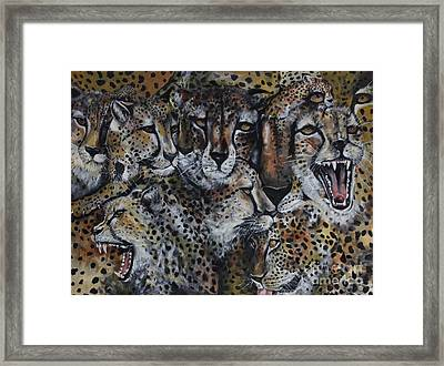 Momentum Framed Print by Laneea Tolley