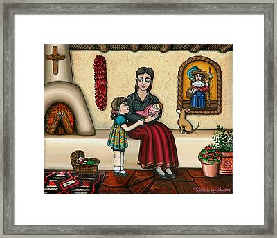 Momma Do You Love Me? Framed Print