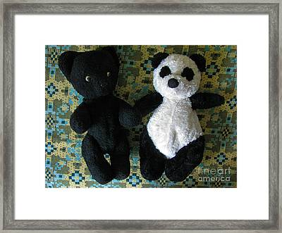 Momma Told Us We Are Brothers Framed Print