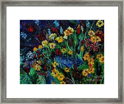 Moms Garden II Framed Print
