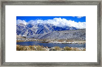 Framed Print featuring the photograph Mom's Old Benton Blues by Marilyn Diaz