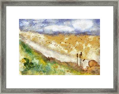 Momzie's Nature -t0202f Framed Print by Variance Collections