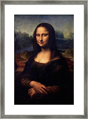 Mona Lisa II Framed Print by Karon Melillo DeVega