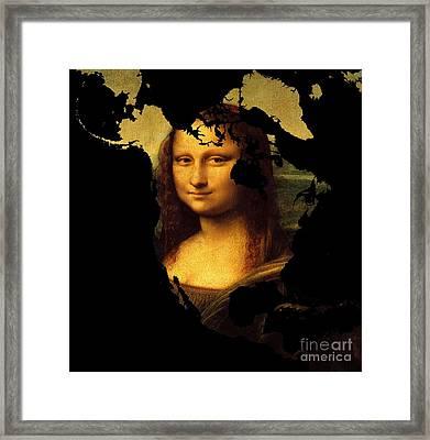 Mona Lisa  North America Framed Print