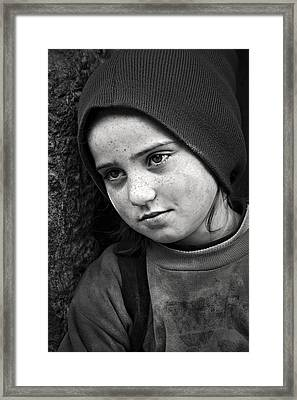 Framed Print featuring the photograph Mona Lisa's Smile by Antonio Jorge Nunes