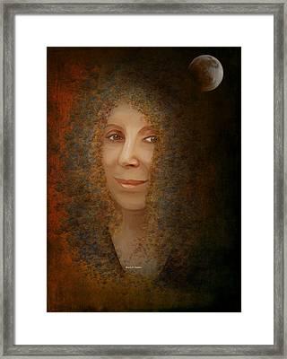 Mona Mia Framed Print by Angela A Stanton