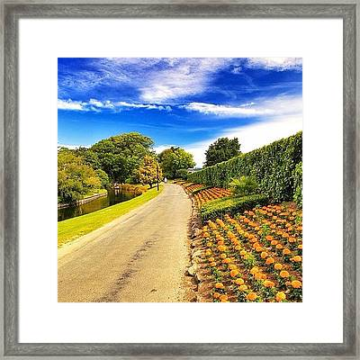 Mona Vale, With Its Homestead Formerly Framed Print