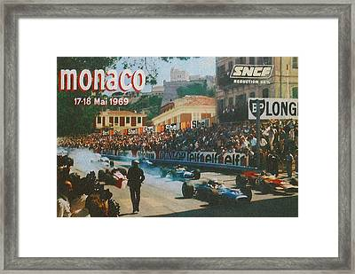 Monaco 1969 Framed Print