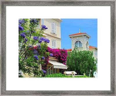 Monaco Beauty Framed Print by Jeanne Porter