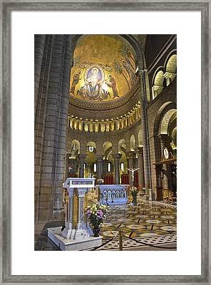 Framed Print featuring the photograph Monaco Cathedral by Allen Sheffield