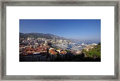 Monaco Framed Print by Ioan Panaite